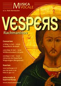 Vespers Rachmaninov affiche